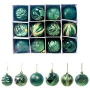 AkoaDa Christmas Balls Ornaments for Xmas Tree - Shatterproof Christmas Tree Decorations Perfect Hanging Ball