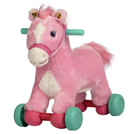 Rockin' Rider Precious Rolling Pony Ride-On ()