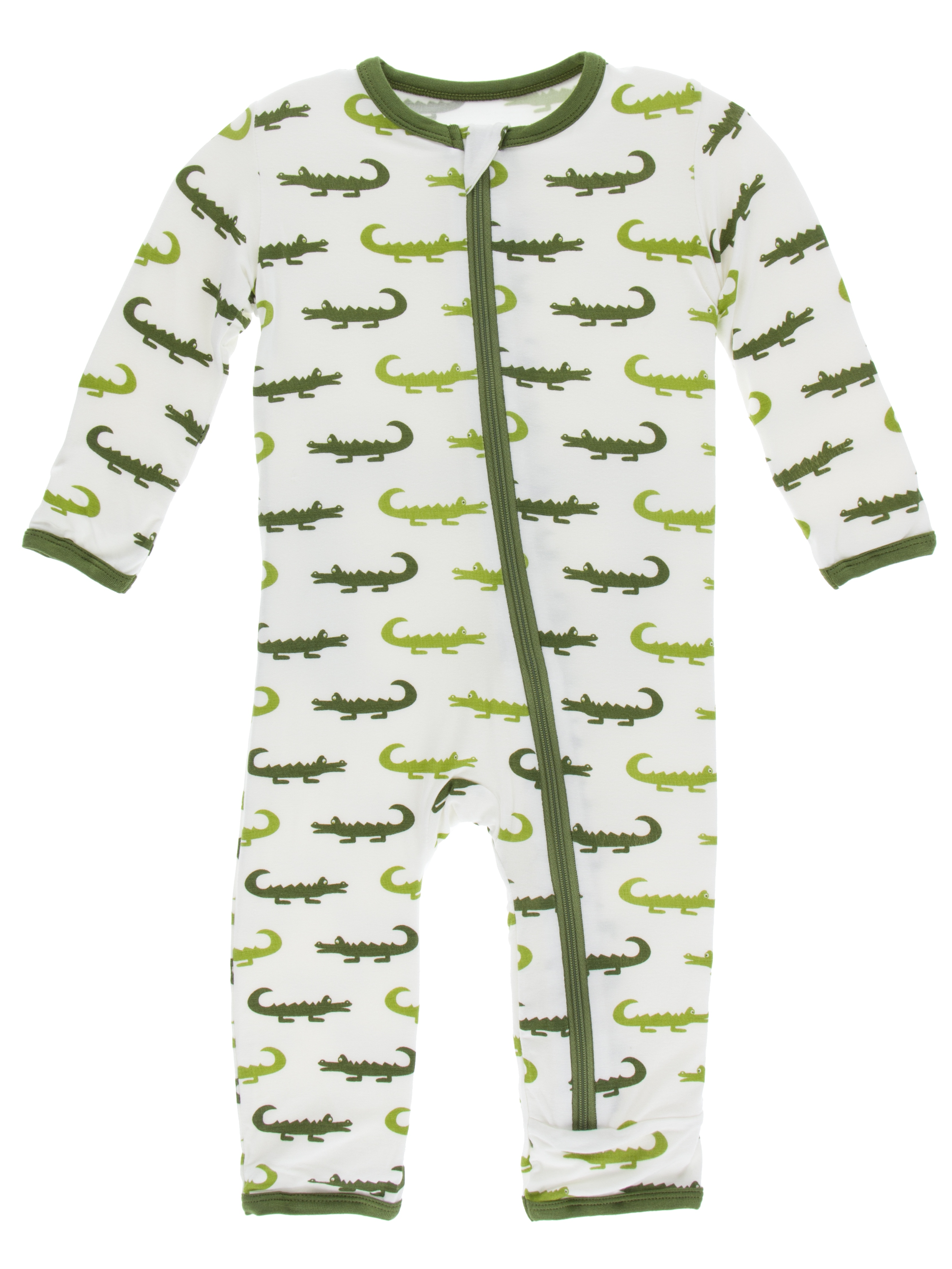 12-18 Months Natural Chemistry Lab KicKee Pants Little Boys Print Coverall with Zipper