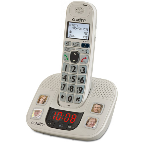 Clarity D722 Amplified Cordless Phone Wi