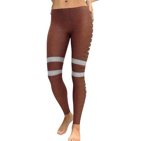 711ONLINESTORE Women Women High Waist Digital Print Sports Tight Yoga Leggings
