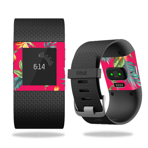 Skin Decal Wrap for Fitbit Surge cover skins sticker watch Paradise