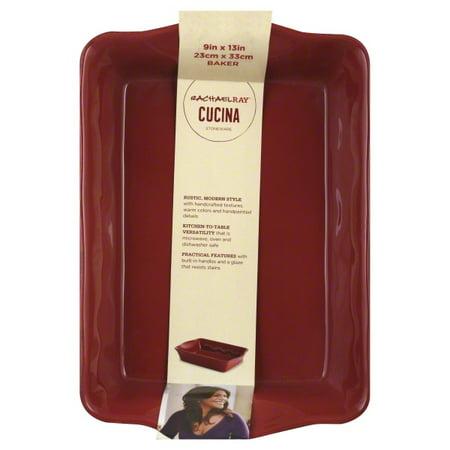 Medium Rectangular Baker (Rachael Ray Cucina Stoneware 9