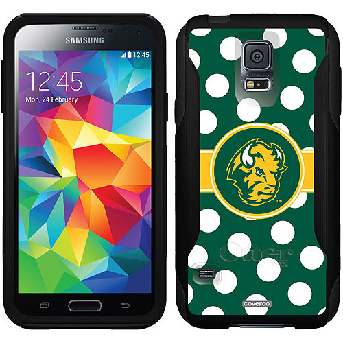 North Dakota State Polka Dots Design on OtterBox Commuter Series Case for Samsung Galaxy S5