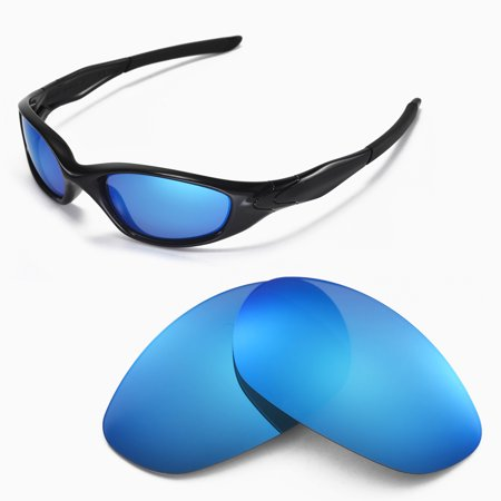 b124df3c86 Walleva - Walleva Ice Blue Polarized Replacement Lenses for Oakley Minute  2.0 Sunglasses - Walmart.com