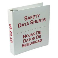 ACCUFORM SBZRS632 Binder,Red/White,10-5/8 in. W,Bilingual