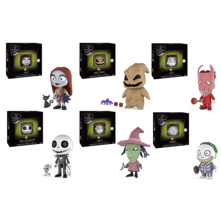 Funko 5 Star Vinyl Figures - Nightmare Before Christmas S1 - SET OF 6 (Jack, Sally, Lock +3)