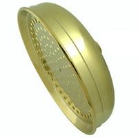 "Elements Of Design DK1252 Polished Brass (PVD) 10"" Rain Drop Style Shower Head"