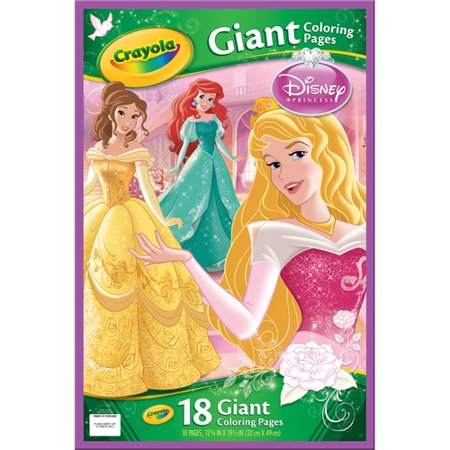 Crayola Giant Color Pages Disney Princess