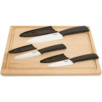 Starfrit 092854-006-0000 3-Piece Set Of Ceramic Knives