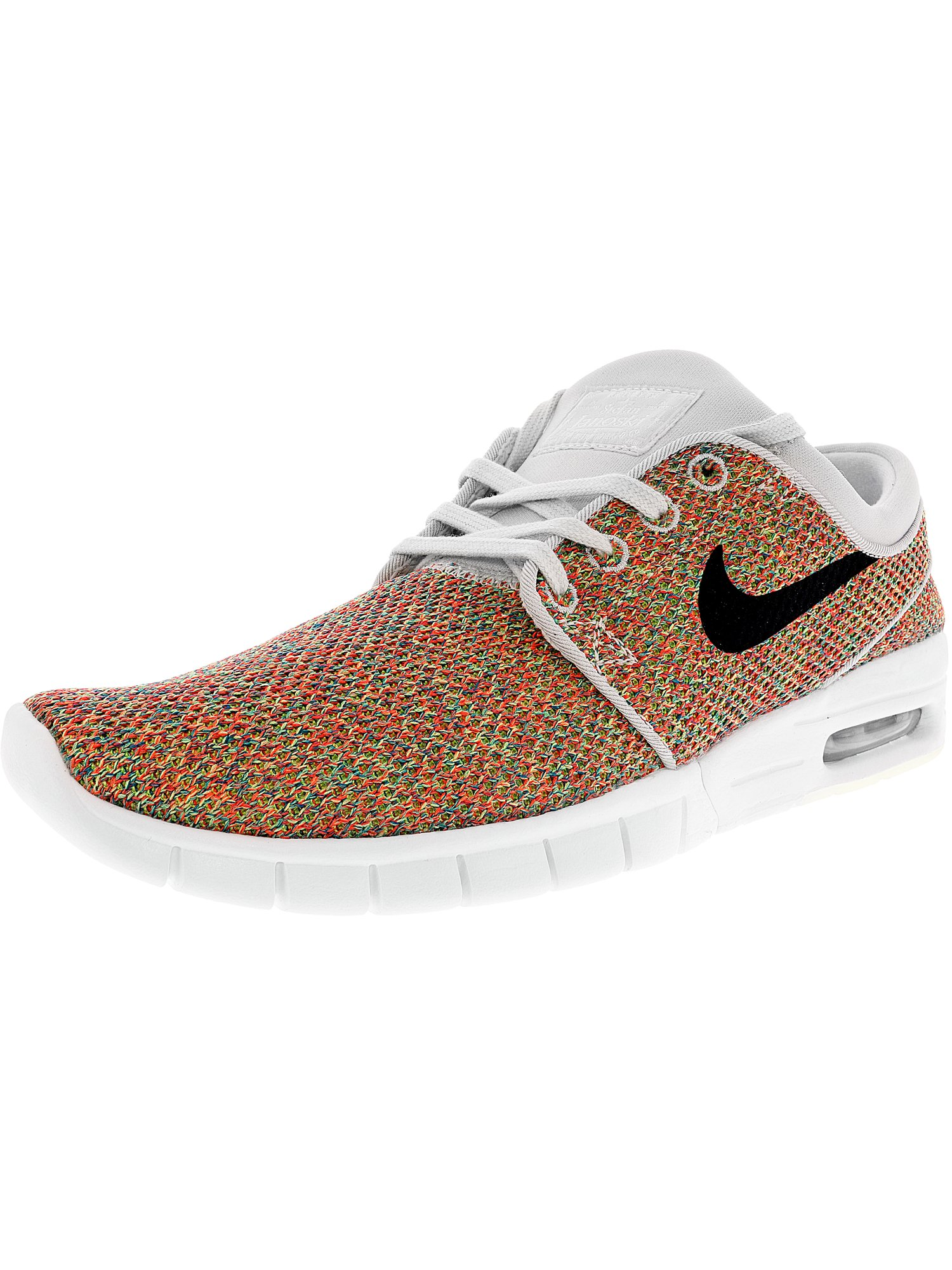 3981e21449f1 Nike Men s Stefan Janoski Max Black   White Ankle-High Skateboarding Shoe -  13M
