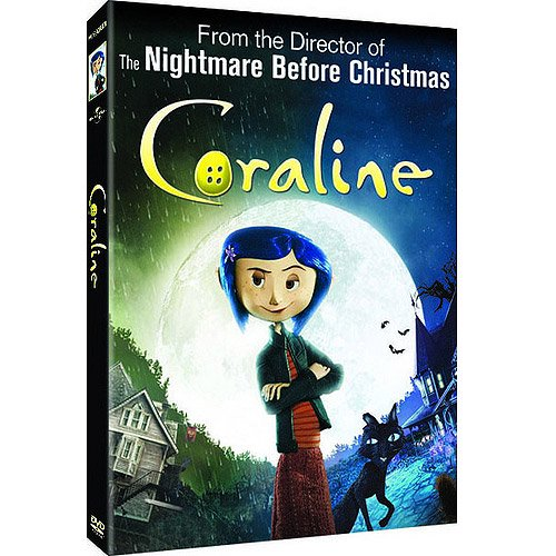 Coraline Special Edition Dvd Pumpkin Stickers Anamorphic Widescreen Walmart Com Walmart Com