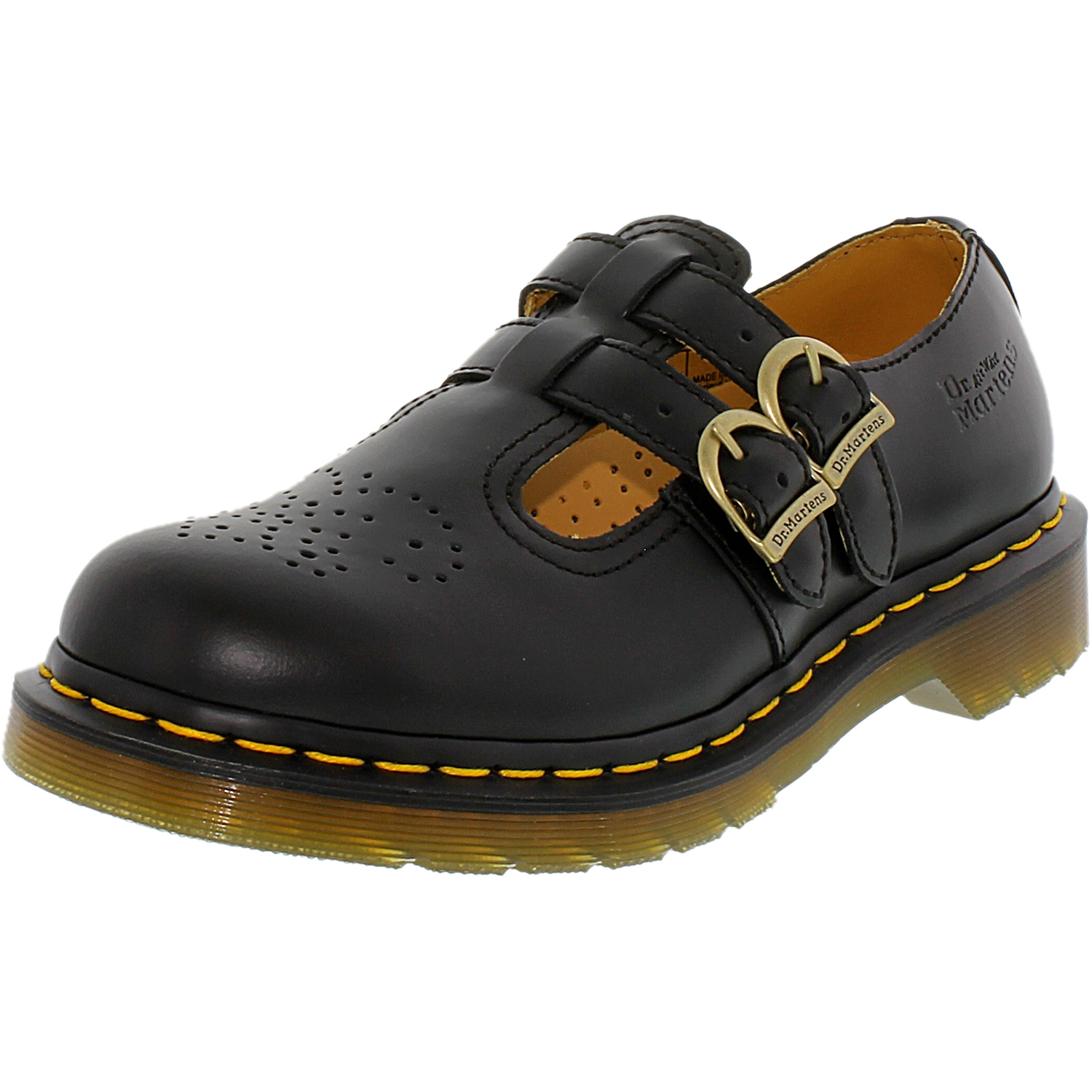 Martens  Black Women/'s 8065 Two Strap Mary Jane* *Dr