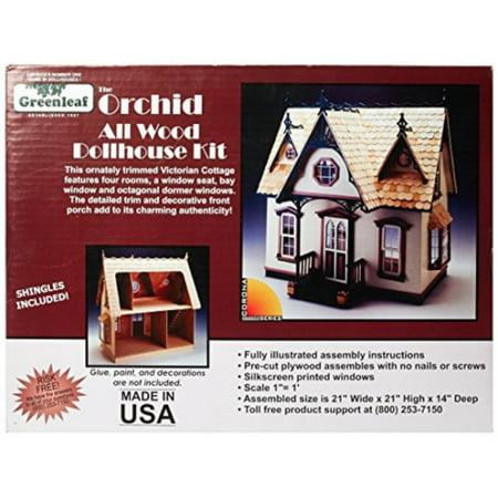 Corona Kit - Greenleaf Corona Dollhouse Kit, Orchid (9301G)