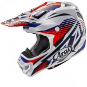 Arai VX-Pro4 Slash Helmet, Red, Size:XS