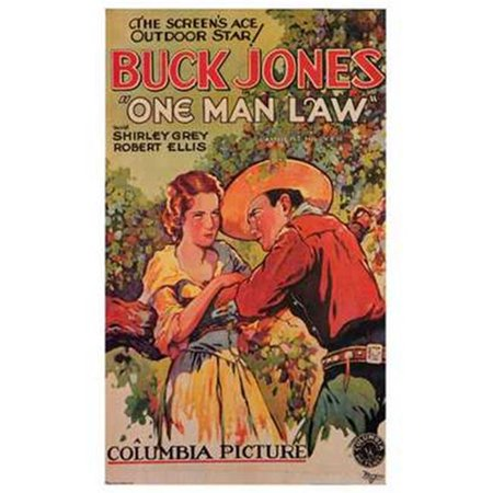 Posterazzi MOV198153 One Man Law Movie Poster - 11 x 17 in. - image 1 of 1