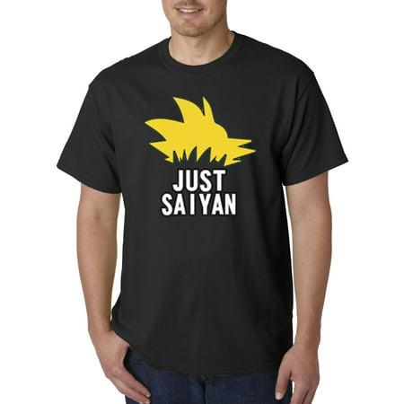 620 - Unisex T-Shirt Just Saiyan Sayin Dbz Hair Super Dragon Ball (Super Saiyan Hair)