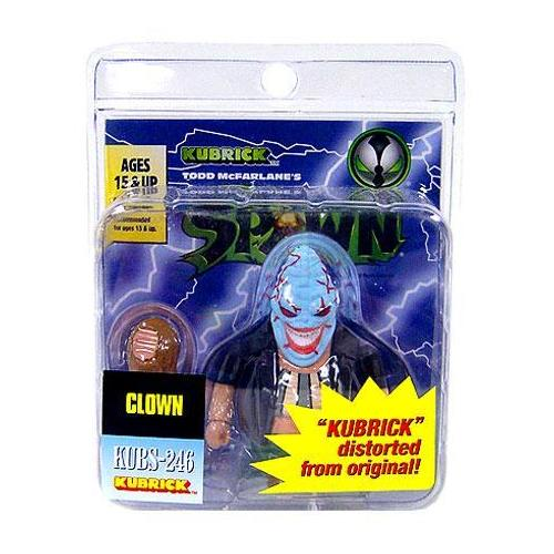 McFarlane Spawn Kubrick Clown No Hair Variant Medicom Toy