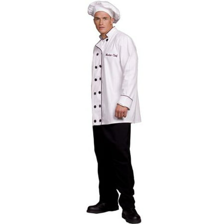 Master Chef Jacket & Hat Costume Adult XX-Large](Costume Chef Hat)