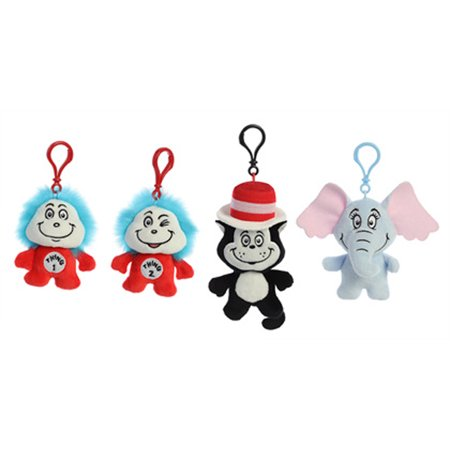 Dr. Seuss Series 1 Blind Bag One Mystery Clip-on Character - Seuss Characters