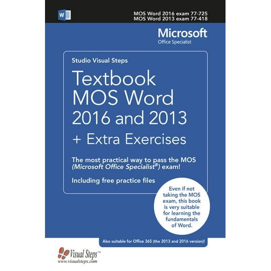 microsoft word 2016 practice exercises