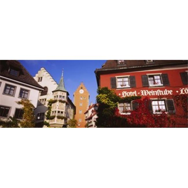 Panoramic Images PPI93766L Low Angle View Of Buildings In A Town  Lake Constance  Meersburg  Baden-Wurttemberg  Germany Poster Print by Panoramic Images - 36 x 12 - image 1 of 1