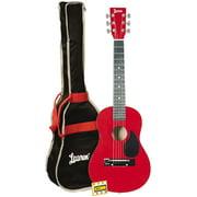 "Lauren LAPKMRD-A Student Guitar 30"" Package Metallic Red"