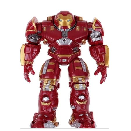Hulkbuster Iron Man Full Armor with Light ron Man Suit Action Figure, TOY-HB-1