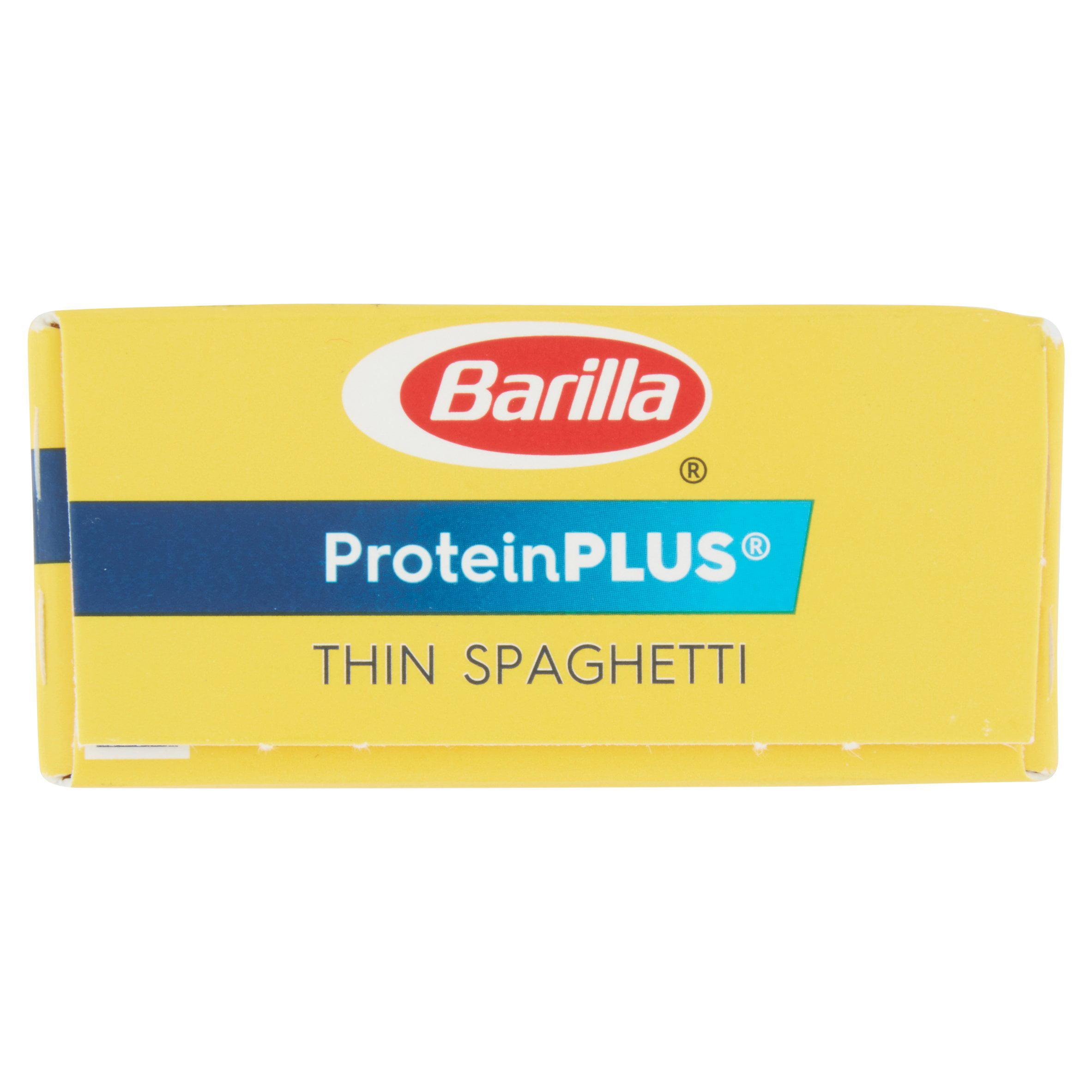 barilla pasta proteinplus thin spaghetti 14 5 oz walmart com