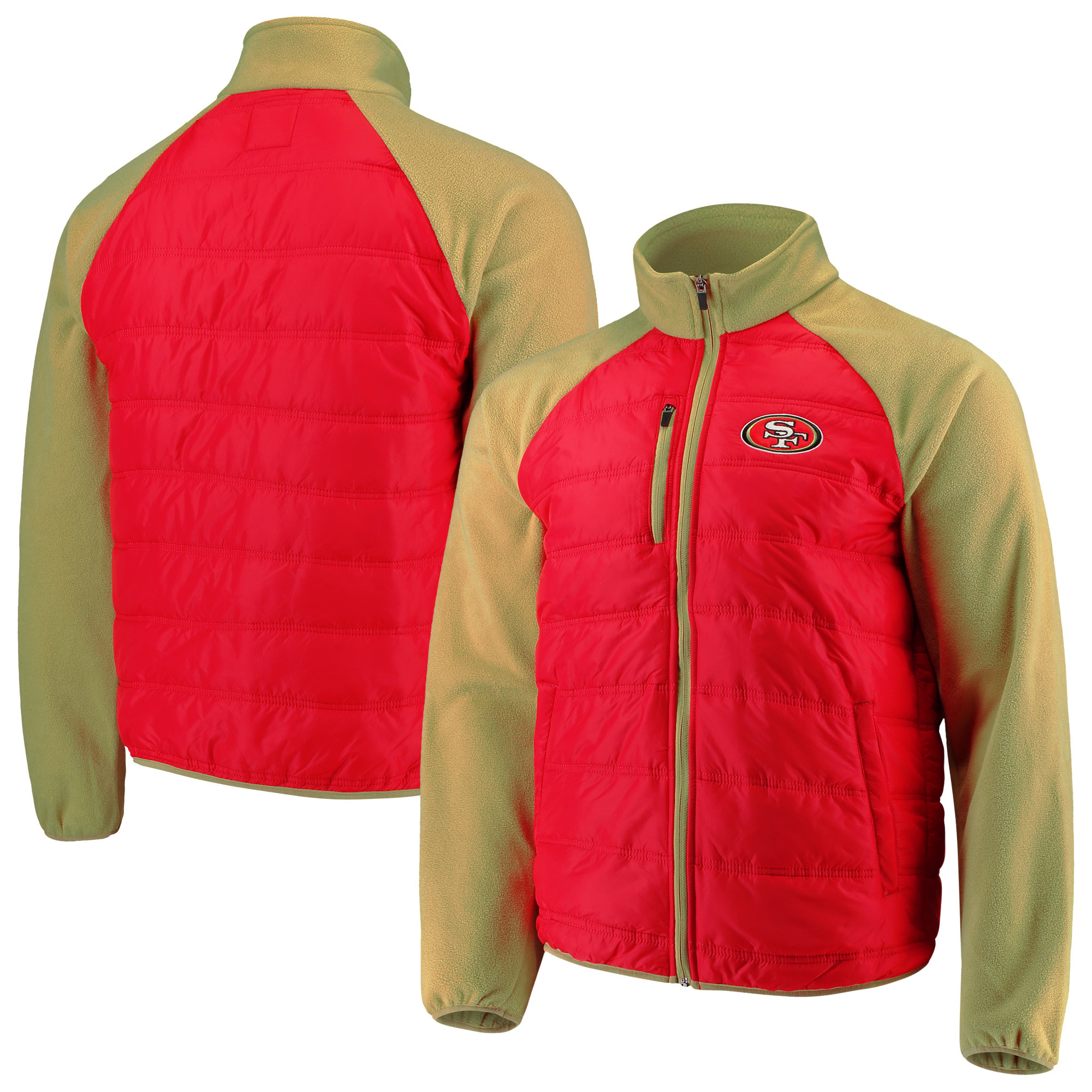 low priced 33479 e2fcc San Francisco 49ers G-III Sports by Carl Banks Reinforcer Full-Zip Jacket -  Scarlet/Gold