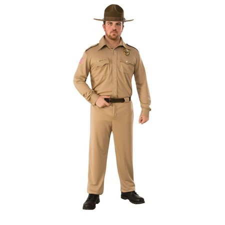 Halloween Stranger Things Jim Hopper Adult Costume - Costumes For Thing 1 And Thing 2