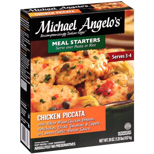 Michael Angelo's Chicken Piccata Frozen Dinner, 20 oz