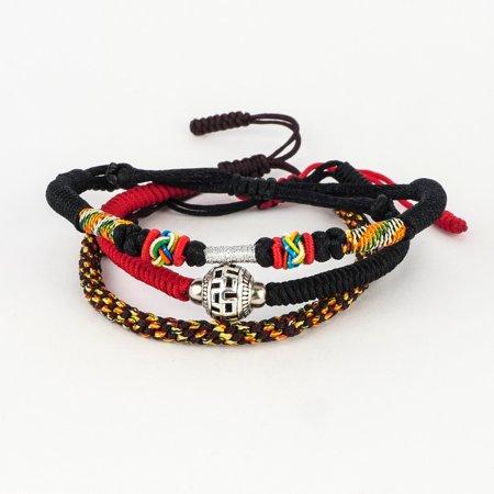 Triple set of Handmade Tibetan Buddha spiritual  Bracelets & Bangles ( spirit of healing and positive energy)