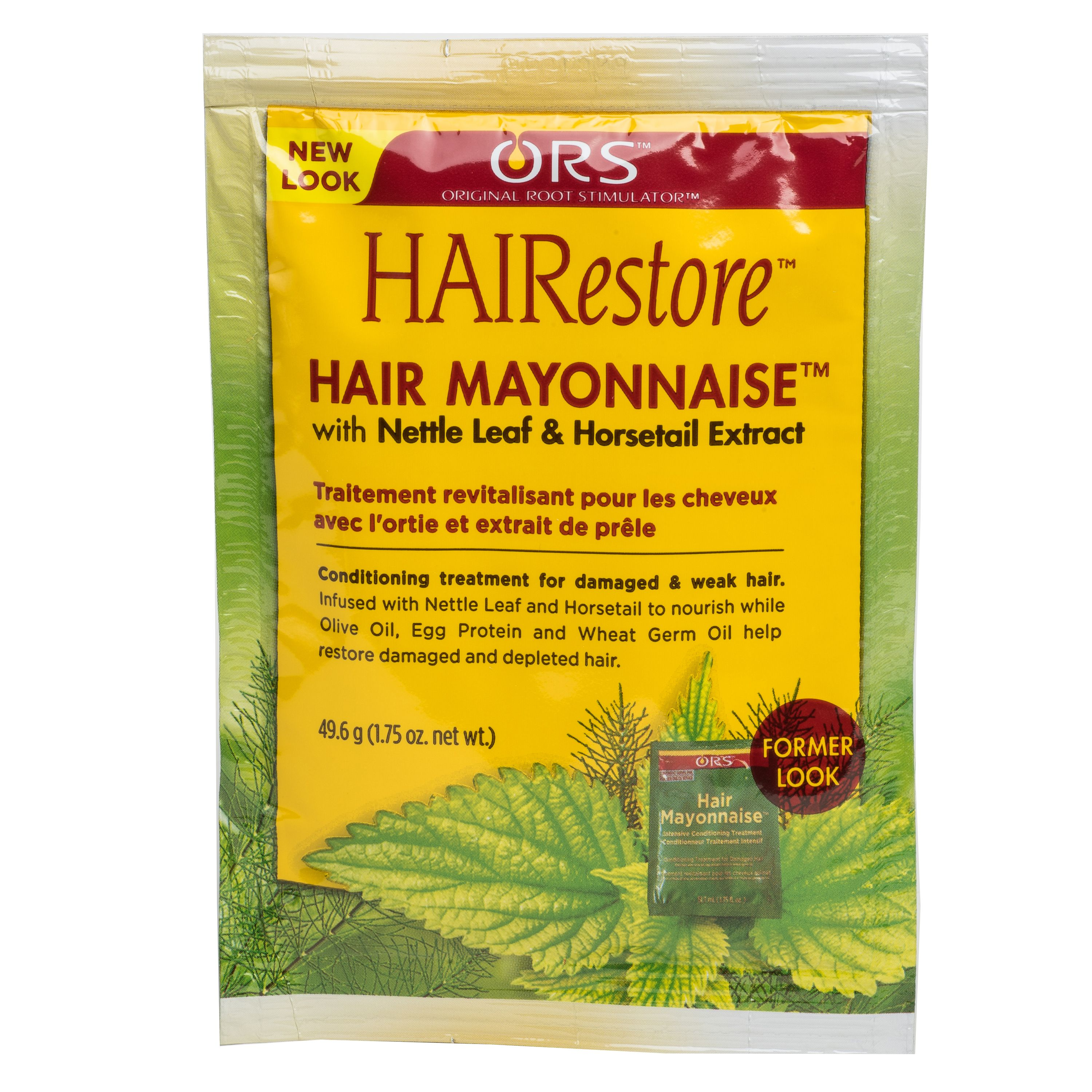 ORS HAIRestore Hair Mayonnaise with Nettle Leaf & Horsetail Extract Packet 1.75 oz