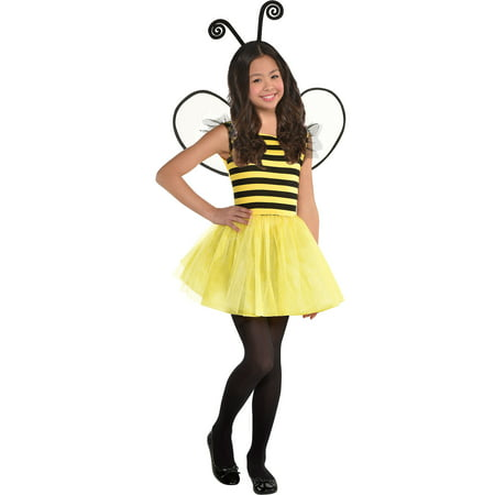 Suit Yourself Buzzy Bee Halloween Costume for Girls, with Accessories](Walmart Halloween Costumes For Girls)