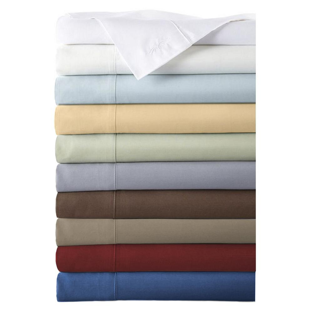 Rayon from Bamboo Full/Standard Pillowcase Set in Cayenne
