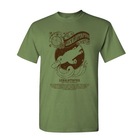 LICKALOTTAPUSS muff diver chow box nasty - Mens Cotton T-Shirt - Chow Mein Charlie