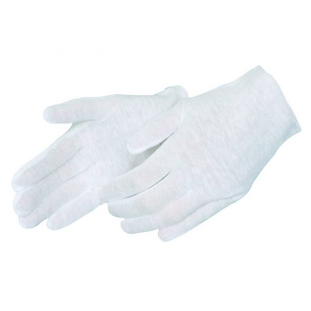 Men's Lightweight Cotton Lisle Inspection Gloves, 12 pairs (Light Up Gloves Wholesale)