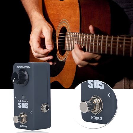 yosoo mini guitars looper effect loop pedal 5 minutes looping for electric guitar electric. Black Bedroom Furniture Sets. Home Design Ideas