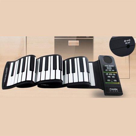 Roll Up Piano Folding Portable Keyboard | 88Keys | Music Gifts for Women Men Girl Boys Kids | Educational Toys Gift Set | Digital Beginner Piano - image 2 of 9