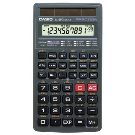 Scientific calculator casio fx 260.