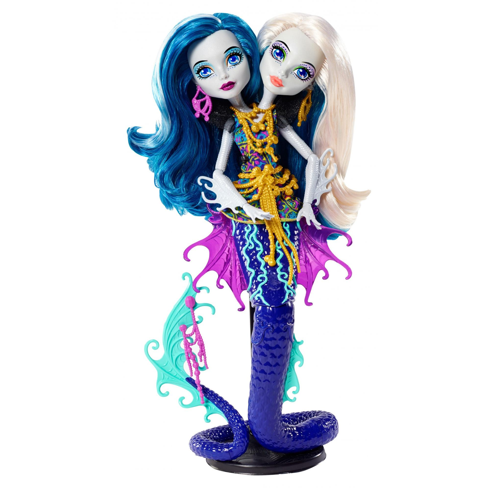 Monster High Great Scarrier Reef Peri Pearl Serpent Doll by Mattel
