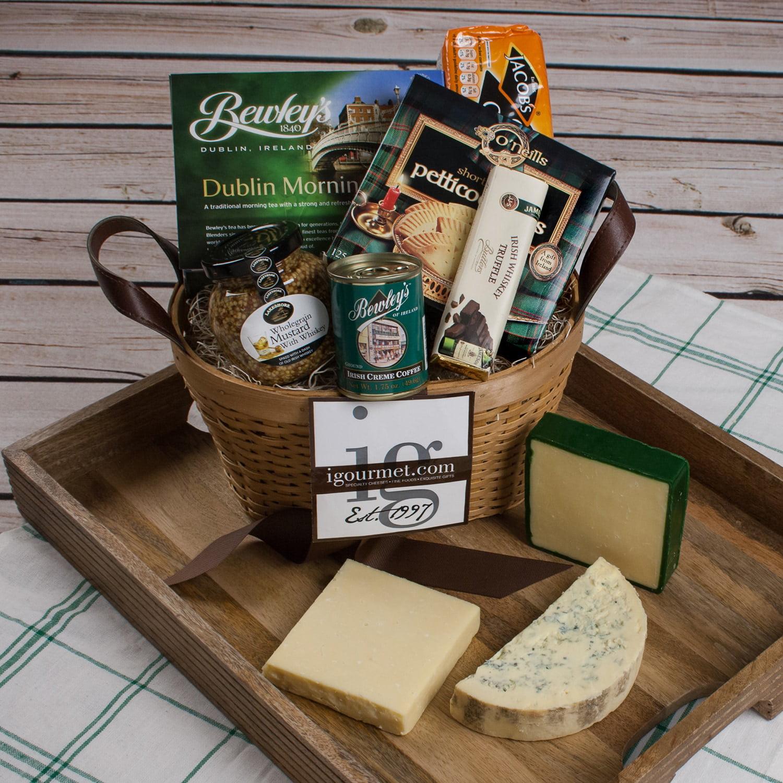igourmet Irish Classic Cheese Gift Basket by Overstock