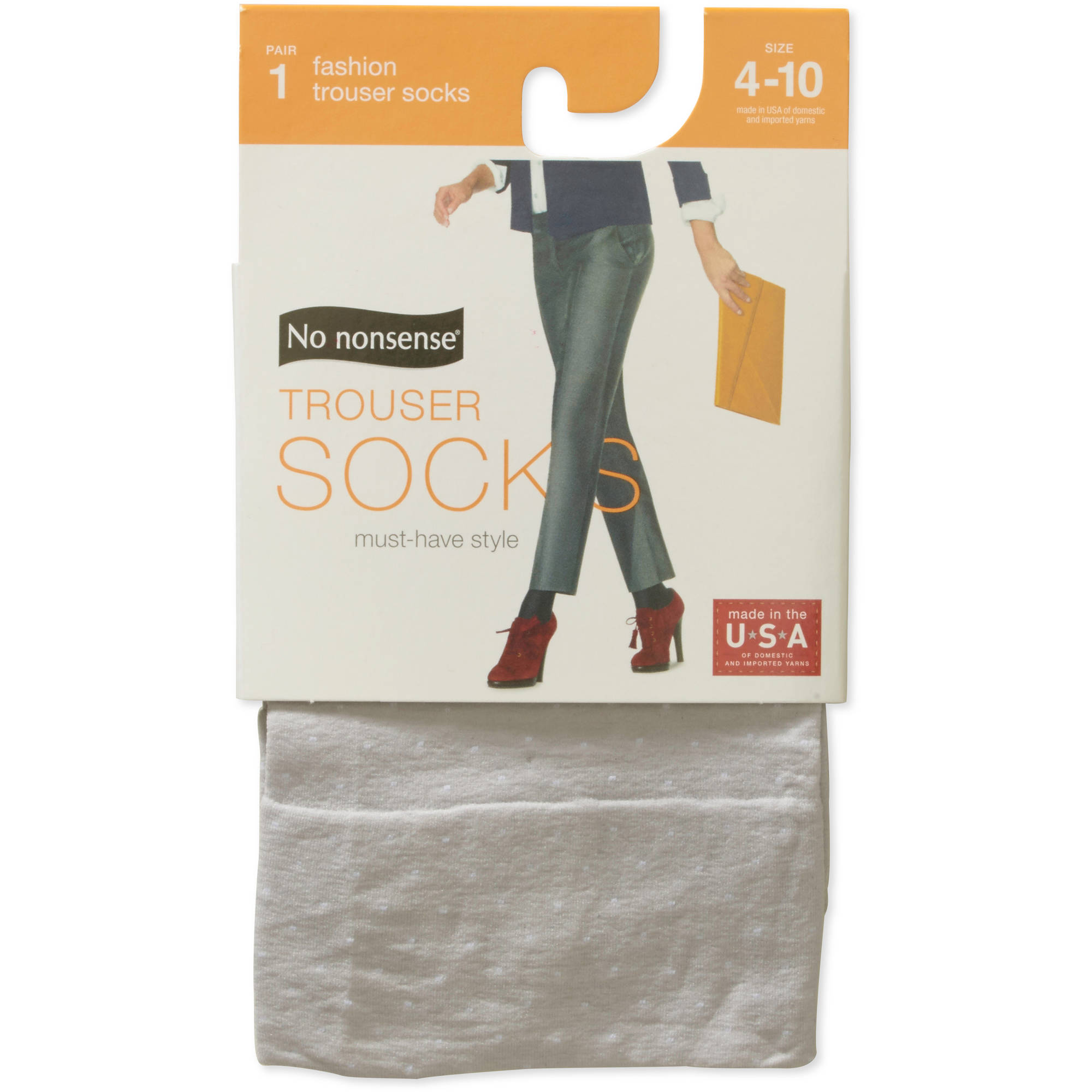 Women's Pin Dot Trouser Sock