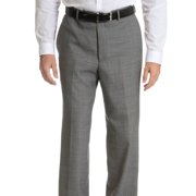 Palm Beach  Men's Black/ Grey Wool Performance Suit Separates Suit Pant