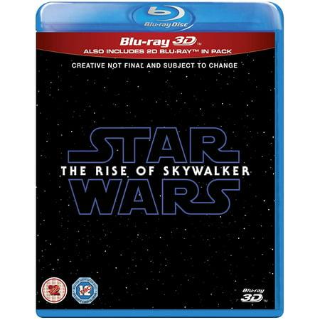 Star Wars: The Rise of Skywalker 3D Blu-ray 2019 Region Free ()