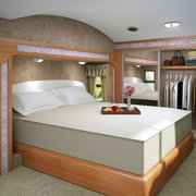 Accutex Foam USA Accu-Gold Memory Foam Mattress 13-inch Twin XL-size Bed Sleep System Twin Xl