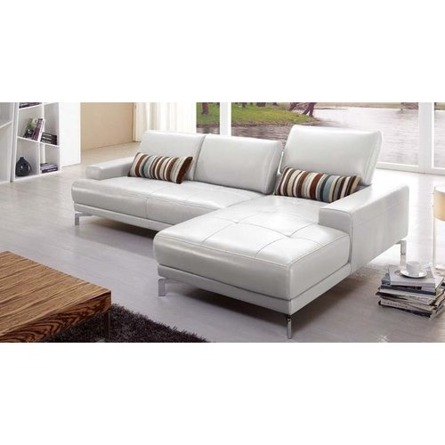 Hokku Designs Leather Sectional by