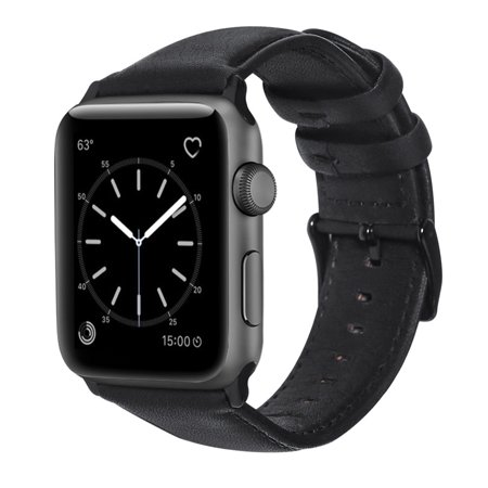 Vintage Iii Series - Retro Vintage Leather Strap Replacement Watchband for Apple Watch Series 3 /2 / 1 42mm/38mm