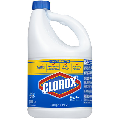 Clorox Regular Bleach, 121 fl oz